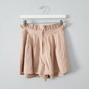 Lovers +Friends Paper Bag Shorts